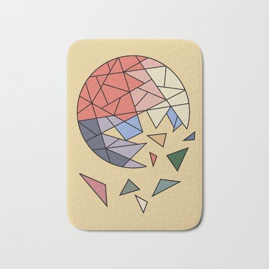 CONSTANT EVOLUTION (abstract geometric) Bath Mat