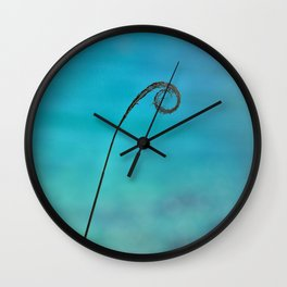 Curl of the Sea Wall Clock