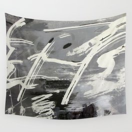 Black and white symphony Wall Tapestry