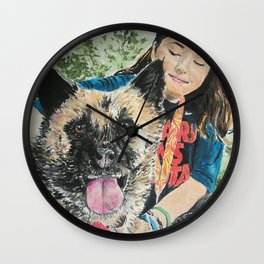 Goodbye Gypsy Wall Clock