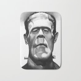 Frankenstein Caricature Bath Mat