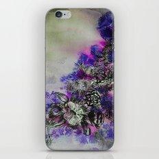 Purple Bouquet iPhone & iPod Skin
