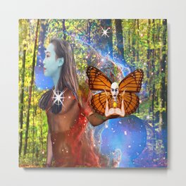 Magic Garden Metal Print
