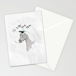 Douchiecorn Stationery Cards
