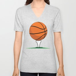 Basketball Tee Unisex V-Neck