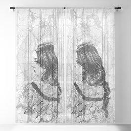 A_M_Lace. ©Yury Fadeev Sheer Curtain