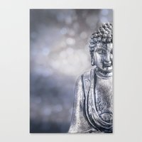 buddha Canvas Prints featuring Buddha by LebensART Photography