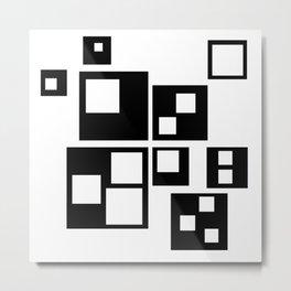 SQU-squares-ARES Metal Print