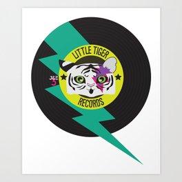 Little Tiger Records Art Print