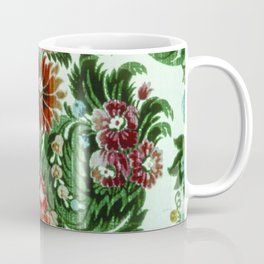 Bouquet Floral Wallpaper Coffee Mug