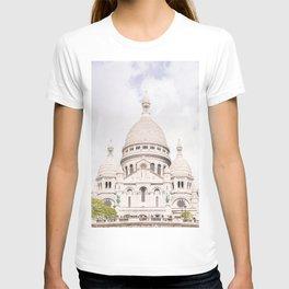 The Sacre-Coeur Basilica in Paris T-shirt