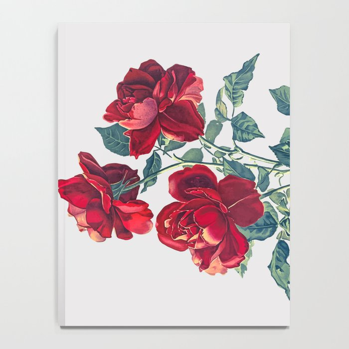 Red Roses Notebook