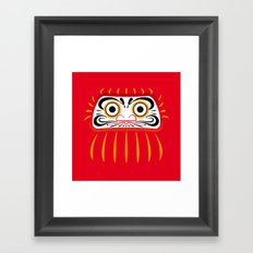 Japan Serie 1 - DARUMA Framed Art Print