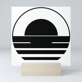 BG Tidal Roundel Mini Art Print