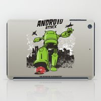 android iPad Cases featuring ANDROID ATTACK by Adams Pinto