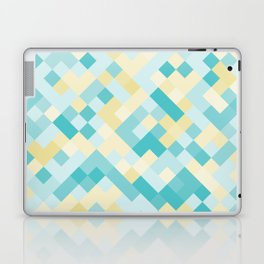 Geometric No. 25 beach mosaic Laptop & iPad Skin