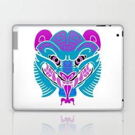 Neon Quetzalcoatl Laptop & iPad Skin