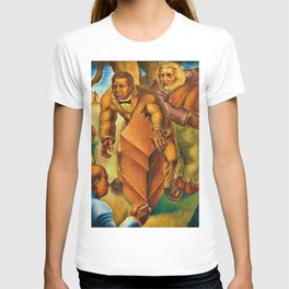 African American Masterpiece 1939 Five Great American Negroes by Charles White T-shirt