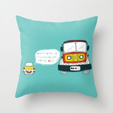 Dad Luv Throw Pillow