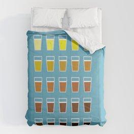 The Colors of Beer Comforters