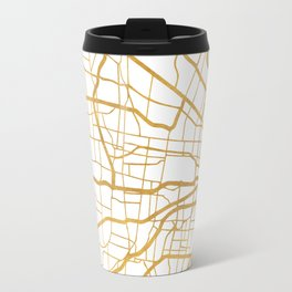 ST. LOUIS MISSOURI CITY STREET MAP ART Travel Mug