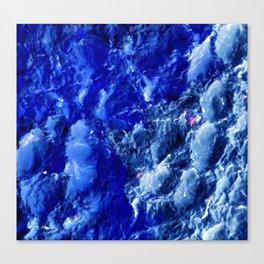 Abstración Océanica Azul Canvas Print