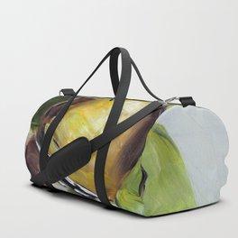Snail, nature, green Duffle Bag