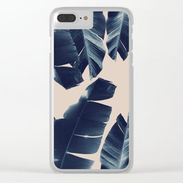 Banana Leaves Tropical Vibes #6 #foliage #decor #art #society6 Clear iPhone Case