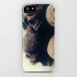 Put your heads together iPhone Case