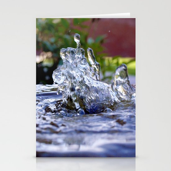 Dancing Water Stationery Cards