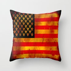 RUSSIAN-AMERICAN - 062 Throw Pillow
