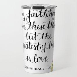 Abide By Faith Travel Mug