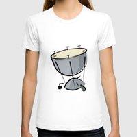 drum T-shirts featuring Timpani Drum by shopaholic chick