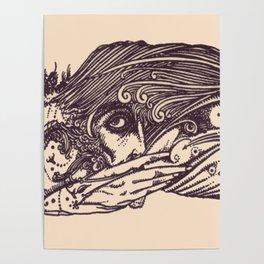 """Harry Clarke Irish Illustrator 1925 """"Faust"""" 2# Poster"""