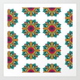 Mandala 4.1.1 Pattern Art Print