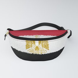 Flag of Egypt - Extruded Fanny Pack