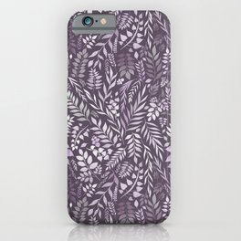 Lavender (Essential Oil Collection) iPhone Case