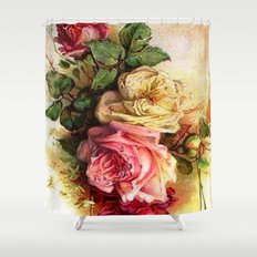 Superior Vintage Rose Bouquet