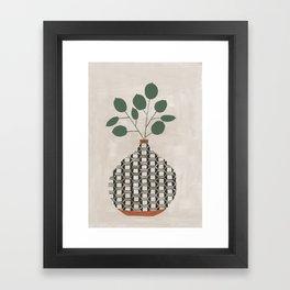 Karten Vase Framed Art Print