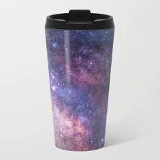 Purple Galaxy Star Travel Metal Travel Mug
