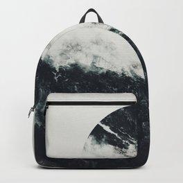 Black meets white Backpack