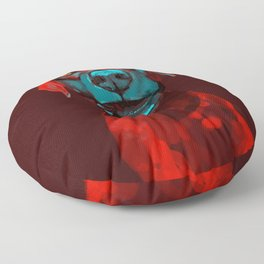 The Dogs: Rufus Floor Pillow