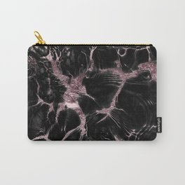 Undefined Mauve Gold Abstract #1 #decor #art #society6 Carry-All Pouch