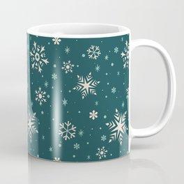 Snowflake Flurries Coffee Mug