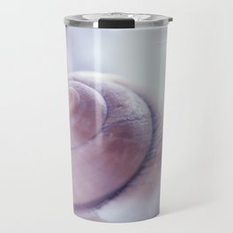 Snail shell blue emotion Travel Mug