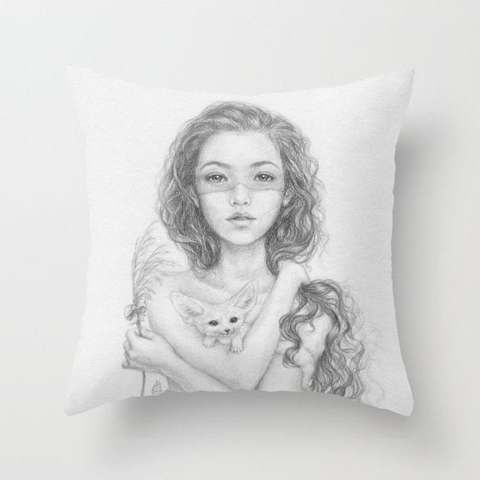 Aetherios | Behold Throw Pillow