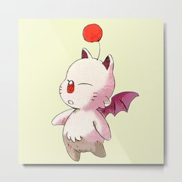 FINAL FANTASY CUTE MOGURI Metal Print