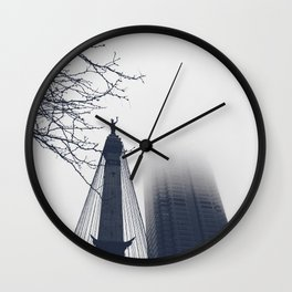 Monument Circle Wall Clock