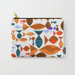 Red Fishes Carry-All Pouch