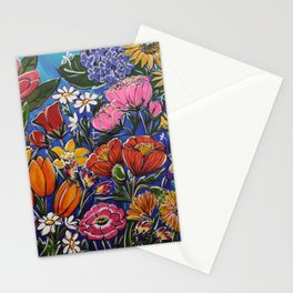 Colourful Blooms Stationery Cards